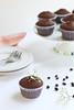 Magdalenes de xocolata i avellanes sense gluten