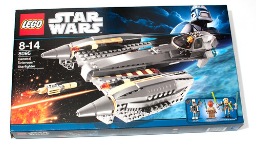 lego general grievous starfighter 8095 instructions