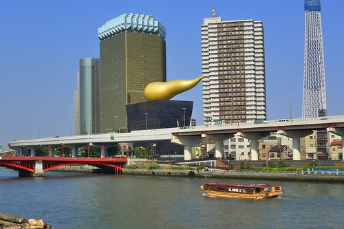 Scenery across Sumida River