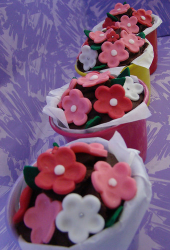 Jardim de cupcakes