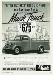 1939 Mack Model ED Light Duty Truck (aldenjewell) Tags: truck ad mack 1939 modeled staketype