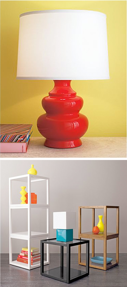 Crate and Barrel Lamps