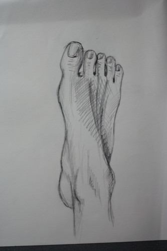 My rigth foot