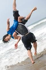 Pajaro Dunes (Onigun) Tags: ocean california friends sunset party beach water portraits sunrise fun sand nikon friendship lifestyle celebration gathering pajarodunes nikond700 onigun