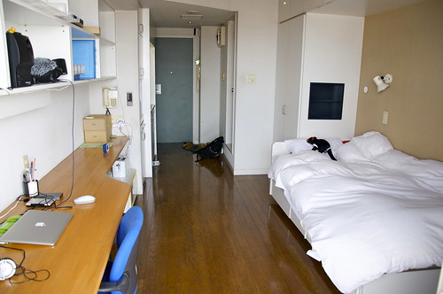 My room in Yokohama International Students House