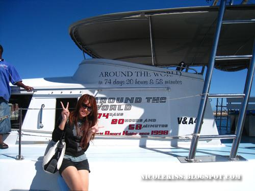 around the world yacht