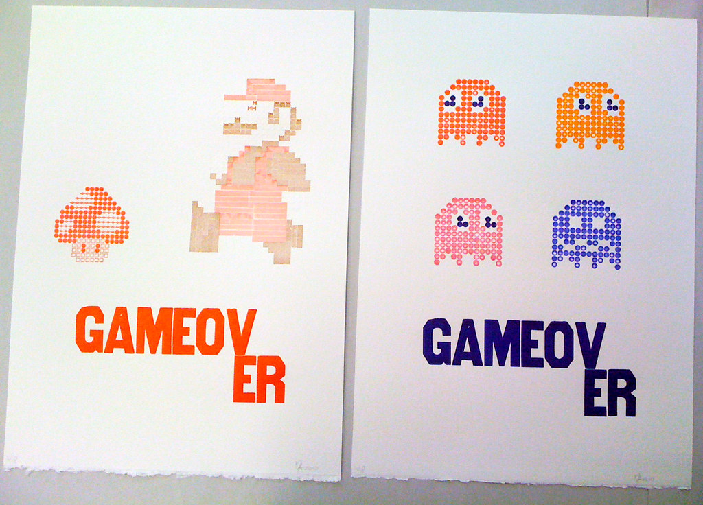 broadside peek: Mario / Pacman ghosts