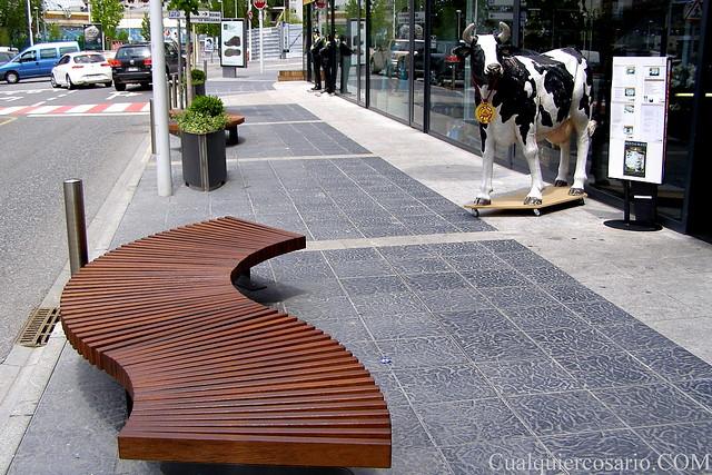 Skater cow