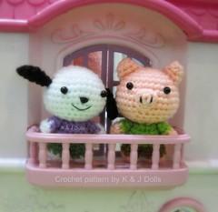 Amigurumi Pig Rabbit : The Worlds newest photos of amigurumi and ...
