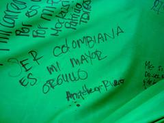 La ola verde en el Parque Lourdes (Angie Kaya) Tags: parque verde colombia bogota enrique lucho ola partido lourdes garzon mockus antanas pealosa