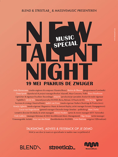 New Talent Night Music Special e-ad