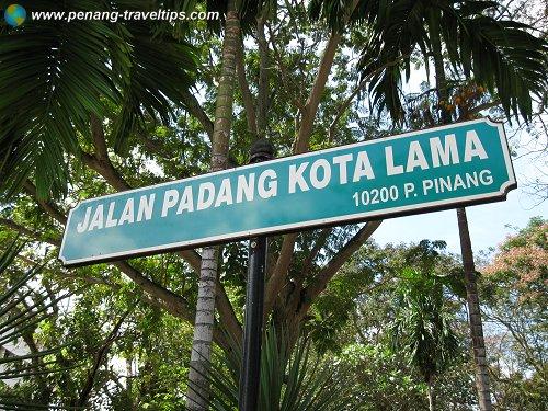 esplanade-road-sign