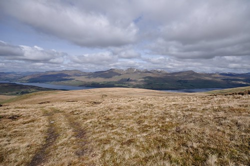 Ben Lawers from Meall nan Oighreag