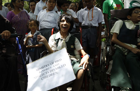 Legal Rights Of The Differently abled persons In India