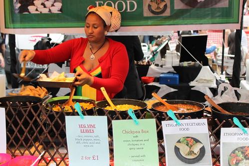 Ethiopian Food in Greenwich Market