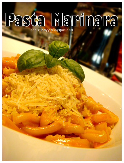 The Angel Cafe: Pasta Marinara