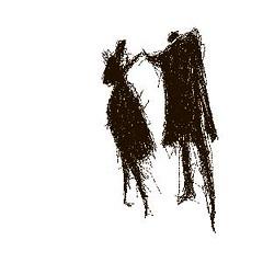 sketch No. 0022 (Valdas M.) Tags: old friends blackandwhite bird love sketch blackwhite noiretblanc silhouettes characters blancinegre digitaldrawing enblancoynegro lifedance inbiancoenero sortoghvid svartochvitt svartoghvitt peopleshadow juodairbalta ernabl mustajavalge beltzaetazuria
