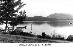 Dublin Lake in Dublin New Hampshire (Keene and Cheshire County (NH) Historical Photos) Tags: dublin lake pond canoe mountmonadnock dublinnh mtmonadnock dublinnewhampshire dublinlake jafrench