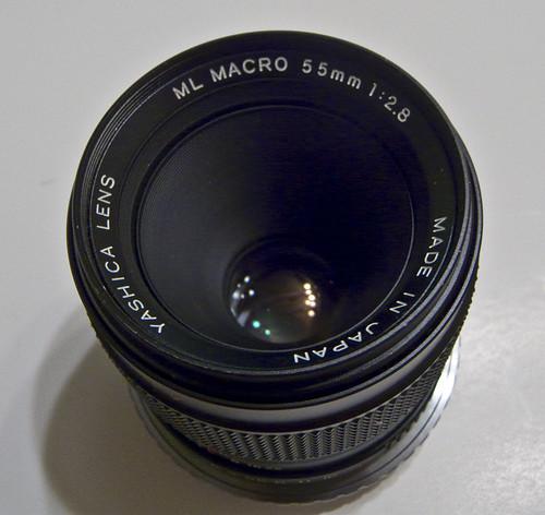 C/Y mount Yashica 55mm Macro ML