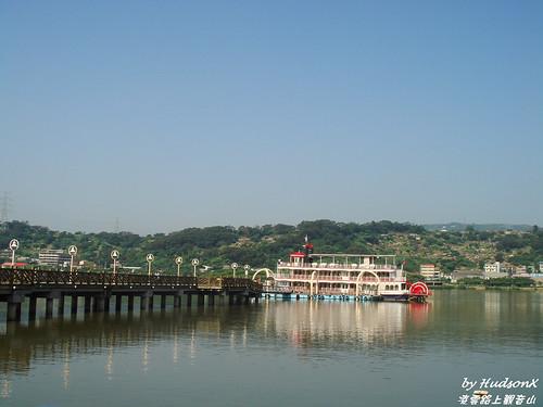 早晨的關渡碼頭