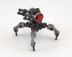 Z7 Anti-Aircraft Walker (Titolian) Tags: support lego aircraft walker anti