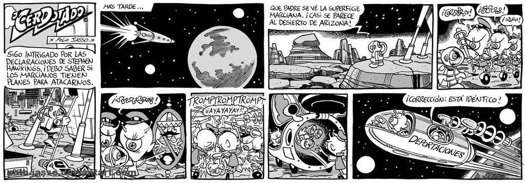 """""""Marte se parece a Arizona"""" por Polo Jasso"""