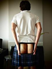 To make it clear: What's up the kilt (2) (Petit Homenet) Tags: ass kilt butt culo ipad upkilt upthekilt upyerkilt faldaescocesa debajodelafalda