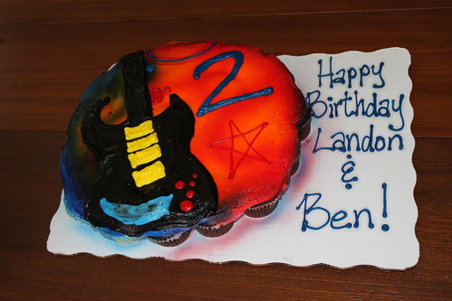 Cake fit for two rock stars by you.