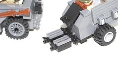 Willys jeep hitch (ReddWolfAK) Tags: lego jeep wwii ww2 ba willy brickarms