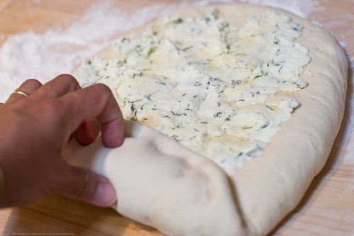 Raw kefir chevre (goat cheese) bread