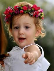 Rambling Rose (SpiderRat) Tags: family flowers wedding roses portrait rose children toddler garland celebration flowergirl wish msh0510 msh05101