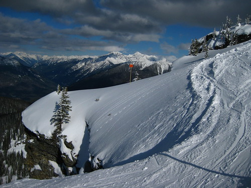 Revelstoke North Bowl Cornice