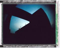 Butler Center NJ USA / Polaroid Colorpack II (Michael Raso - Film Photography Podcast) Tags: polaroid butler newjerseyusa fujifilmfp100c butlernj polaroidcolorpackii butlercenter