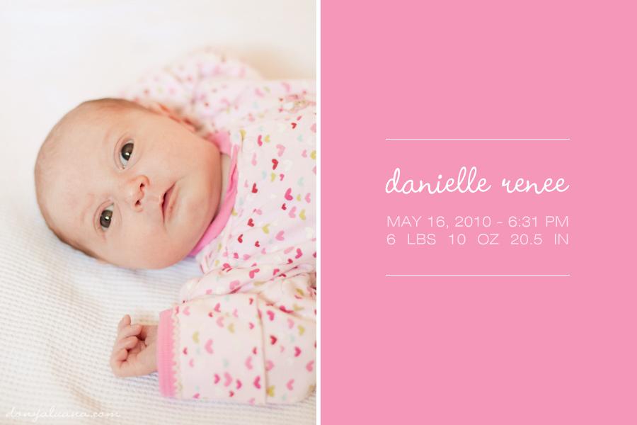 newborn: danielle renee
