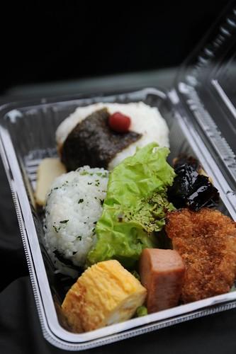 水明荘のお弁当(朝食)
