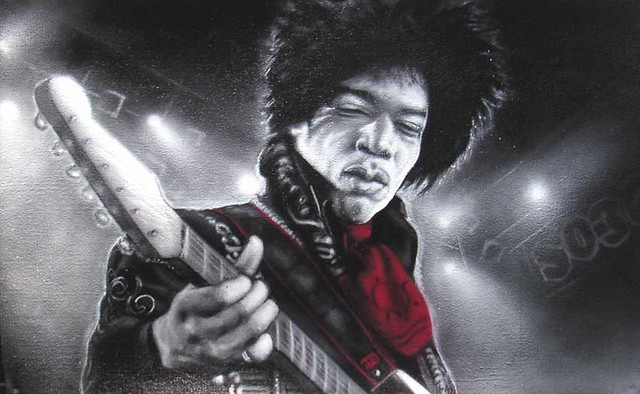 """Xberg Voodoo"" (Hendrix in SO36)"