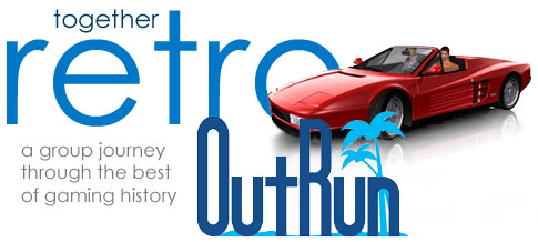 Together Retro Game Club: Outrun - RetroGaming with Racketboy