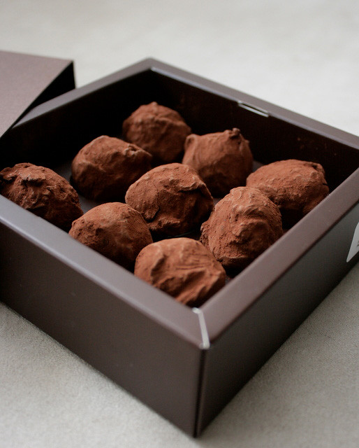 Darkest of pleasures...these truffles will bring you places you never knew existed