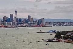Auckland Era (Catching Magic) Tags: city newzealand auckland northshore tiraudan devonport waitemataharbour catchingmagic