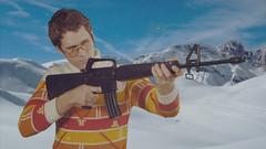 """Il mio Capo è il tuo Capo"" Scene 9A Take 1 (WOLF CHOIR) Tags: projection alpine killer shooting 1976 dex m16 murderer biathalon franconero jackdexter yourbossismyboss feb2014 shootingatorfromamovingvehicle riflesafety unrestoredfilm"