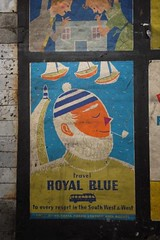 Royal Blue coach services poster by Daphne Padden, c1959 (mikeyashworth) Tags: london poster 1950s tubestation londonunderground nottinghillgate oldposters nottinghillgatestation royalblue oldadverts royalbluecoaches holidayposter daphnepadden coachservices mikeashworthcollection