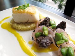 Halibut & Morels 3 from Ten-01