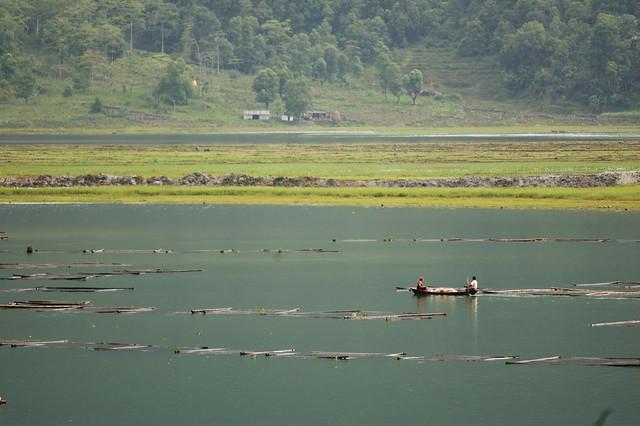 Pokhara lake, Nepal