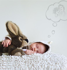 12.12 (Dainius Grakauskas) Tags: sleeping baby white rabbit beauty children child dream pure dreamming
