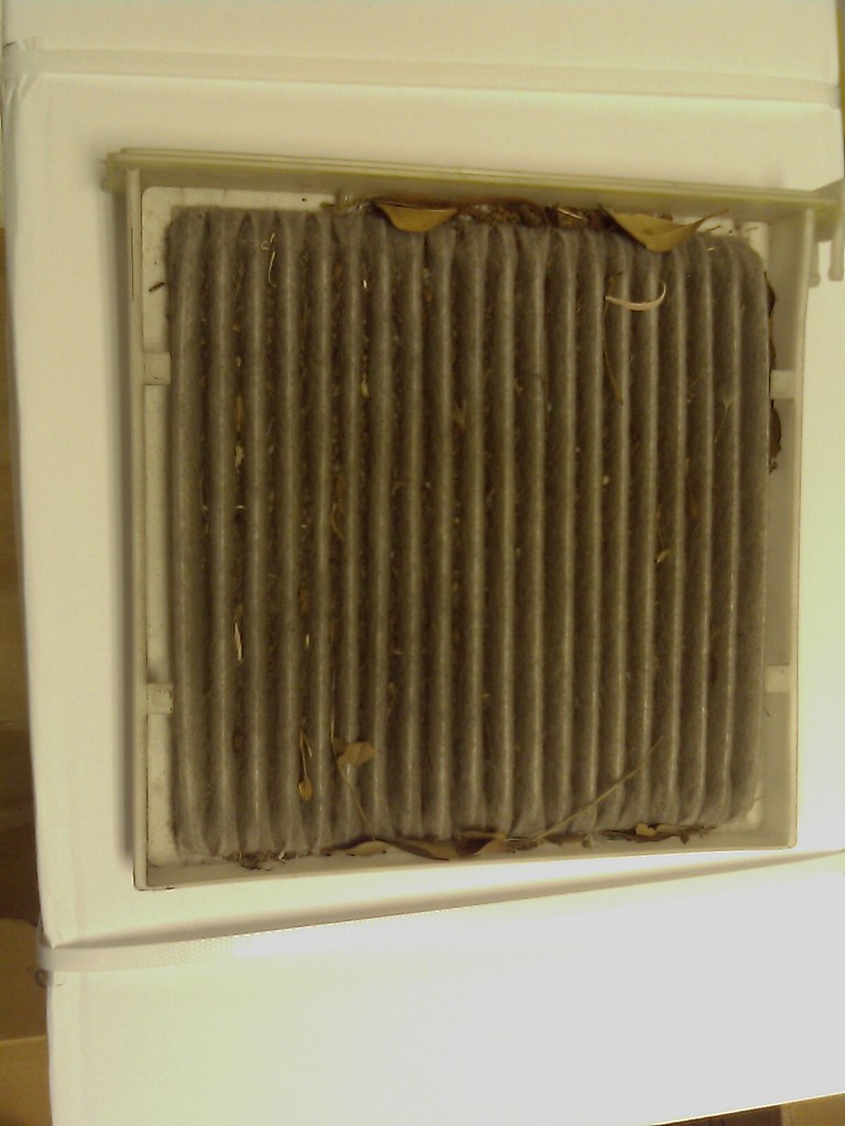 Toyota Prius: Cabin Air Filter - Dirty/Nasty