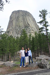 Steve Nadine and Kelsea Devils Tower