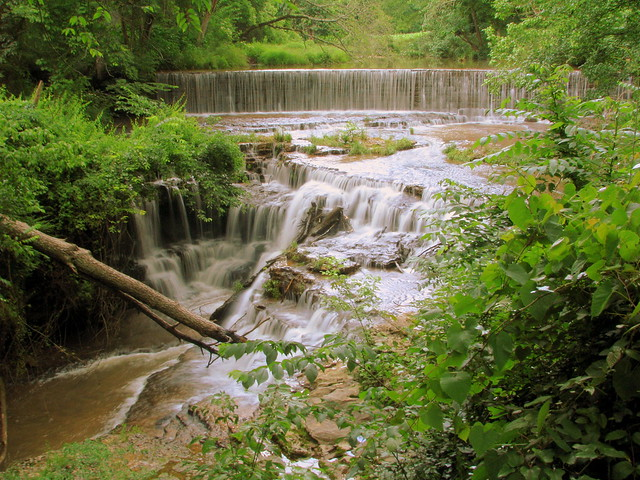 Upper Falls at Falls Mill