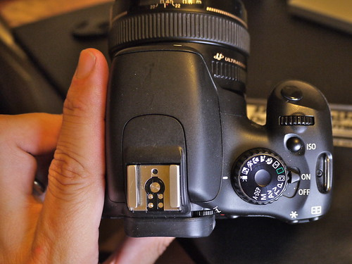 Top View: Canon EOS 550D (Rebel T2i / Kiss X4 Digital)