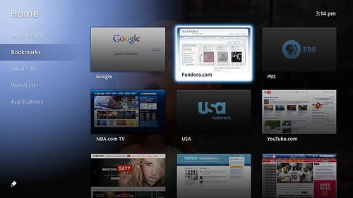 Google TV 介面(Google提供)
