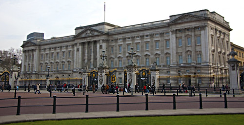 Buckingham Palace Tilt Shift